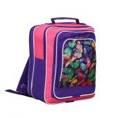 Рюкзак школьный RINAX «Дашенька» для девочек, на молнии, 1 отдел, 26х16х32 см