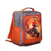 Рюкзак школьный RINAX «Дашенька» для мальчиков, на молнии, 1 отдел, 26х16х32 см