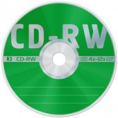 Диск CD-RW Data Standart 4x-12x 700МБ