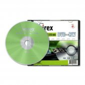 Диск DVD+RW Mirex 4x, 4.7 ГБ, Slim case UL 130032A4S