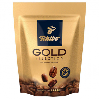 Кофе растворимый TCHIBO «Gold Selection», 150 г., дой-пак